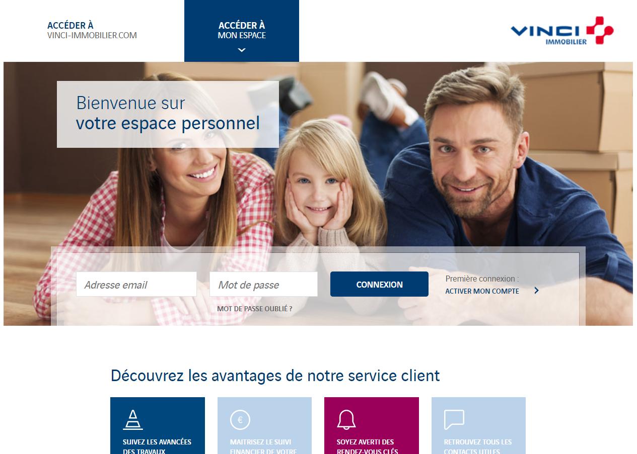 Extranet Client VINCI Immobilier